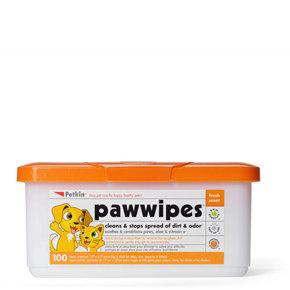 Petkin Paw Wipes+ (100pk)