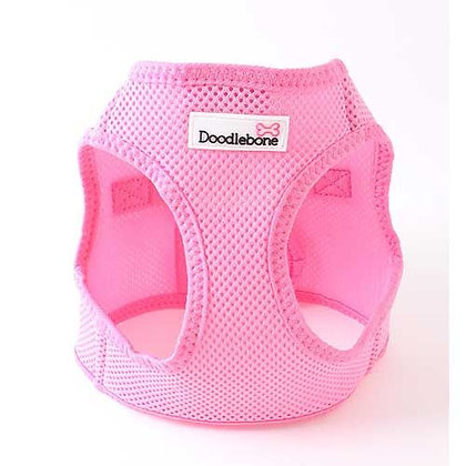 Doodlebone Snappy Dog Harness in Pink