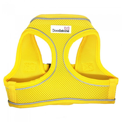 Doodlebone Snappy Dog Harness in Yellow