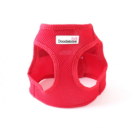 Doodlebone Snappy Dog Harness in Red