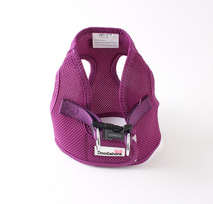 Doodlebone Snappy Dog Harness in Purple