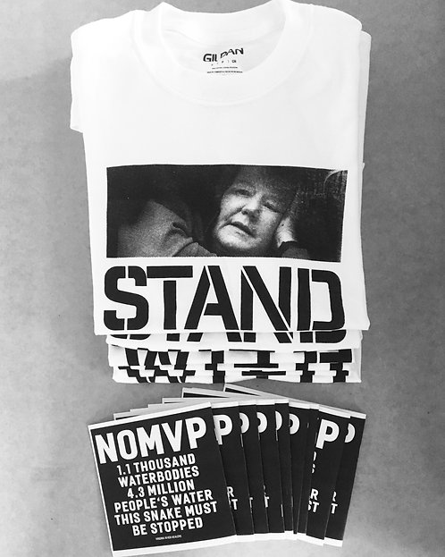 STAND WITH RED (tshirt)