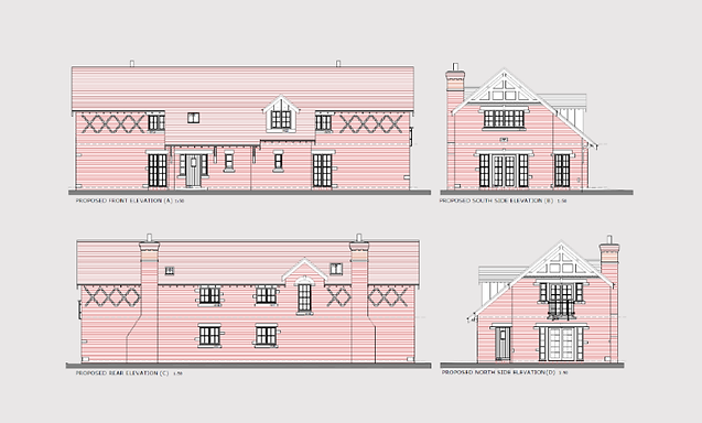 NWD Architects Chester Barn Conversion drawing