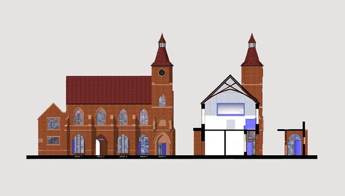 Architect Chester Town Hall refurbishmen