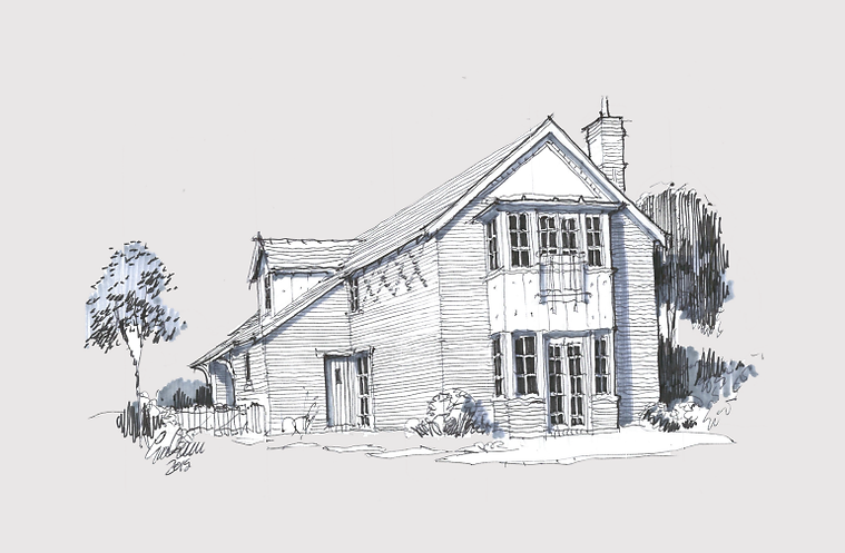 NWD Architects Chester barn conversion sketch