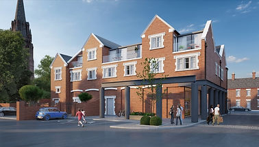 Architects chester mixed use rebuild rea