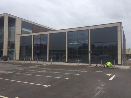 Expansion Plans Continue for Large Retail Client.