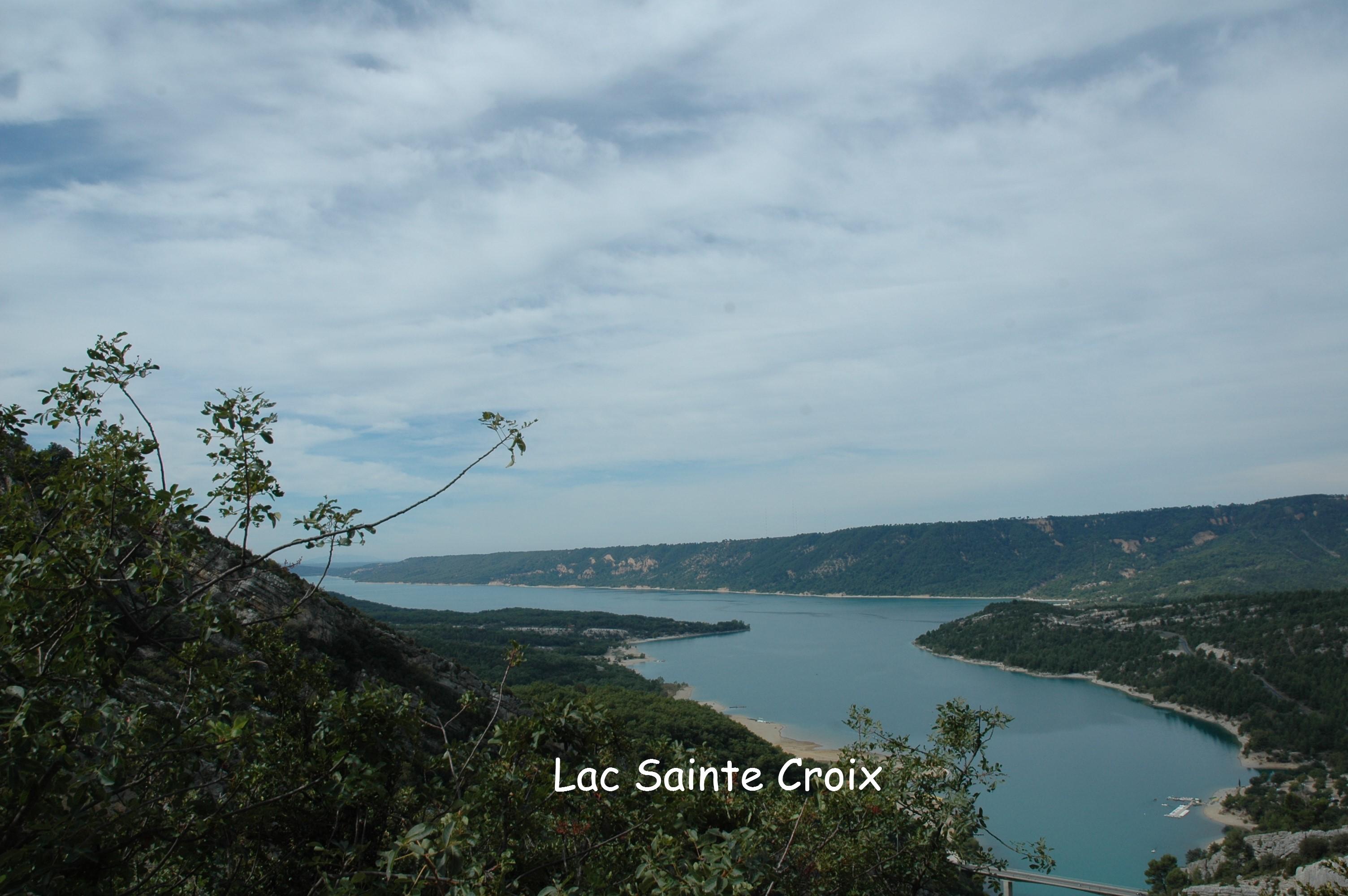 1-Lac Sainte- Croix