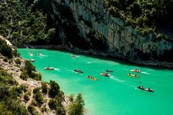 canoe-in-de-gorges-du-verdon