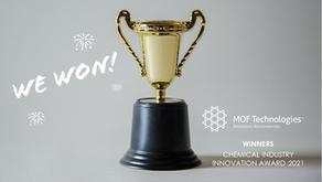 MOFT Wins Key Industry Innovation Award