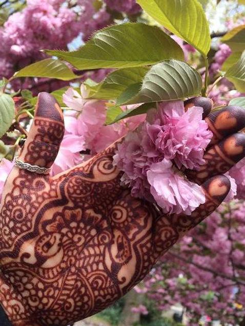 Cleveland Ohio henna artist Henna By Eve