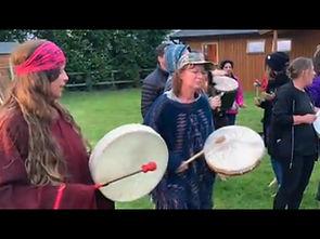 shaman michelle martin shaman drumming www.MichelleIMartin.com
