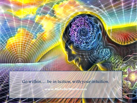 intuition in tuition go inside meditate