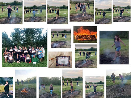 shaman michelle martin fire rite firewalking