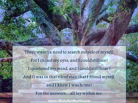 the answers are inside you meditation