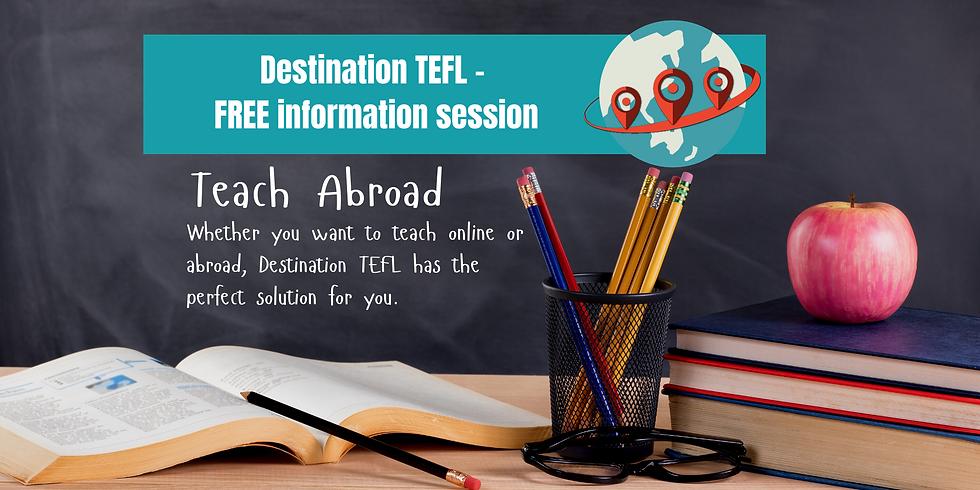 FREE Teach Abroad Webinar - 27th March