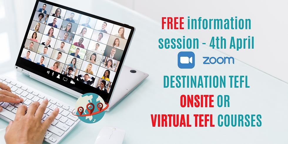 FREE Teach Abroad Webinar - 3th April