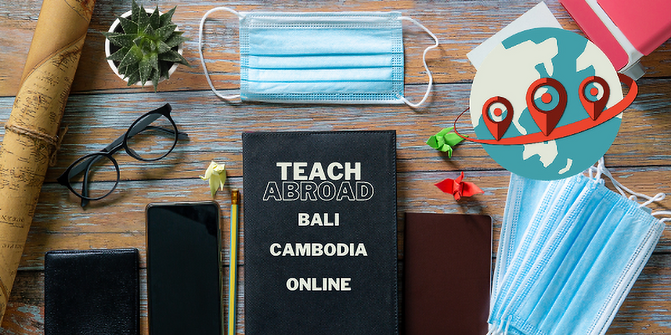 Teach Abroad or online with Destination TEFL