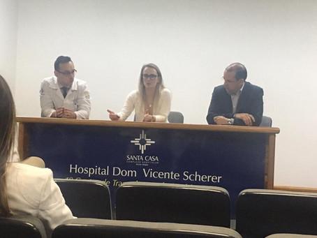 Reunião Cientpifica Semanal do Serviço de Cirurgia Plástica da Santa Casa de Misericórdia de POA