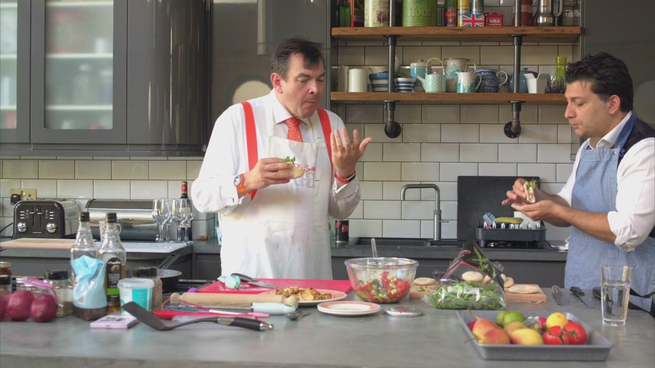 Hossein Houssaini- Cooking & Conversation