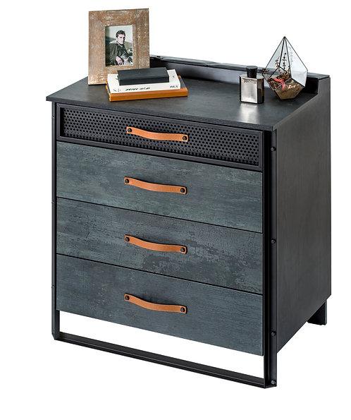 Dark Metal Dresser