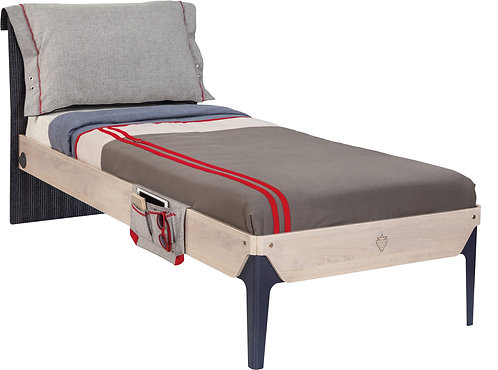 Trio Bed(L-100X200 cm) (Pullout Optional)