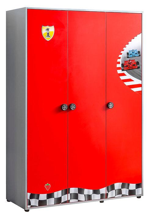 Racecup 3 Door Wardrobe