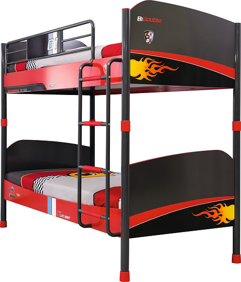 Champion Racer Bunk Bed (90X200 cm) (Pullout optional)