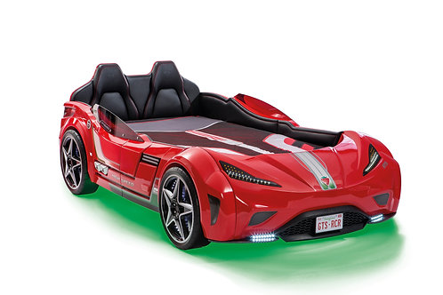GTS Car Bed w Leather Seat (99X191 cm) (3 Colors)