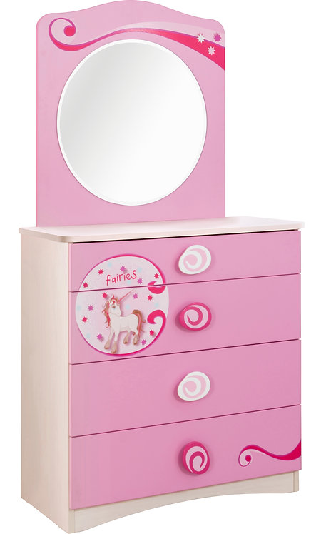 Princess Dresser (Mirror Optional)