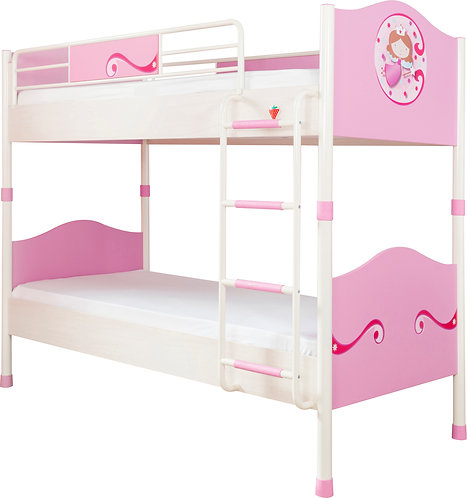 Princess Bunk Bed (90X200 cm)