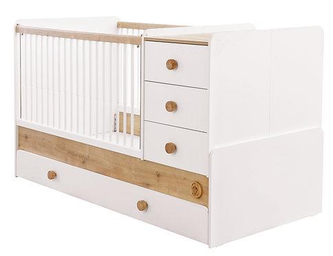 Natura Baby Convertible Cot Bed