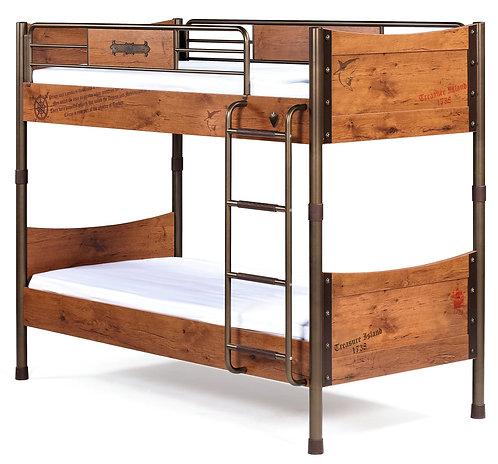 Pirate Bunk Bed (90X200 Cm)