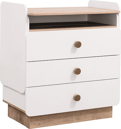Natura Baby Dresser w Desk