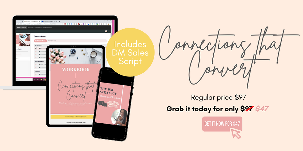 Sales page Connections that Convert (1).