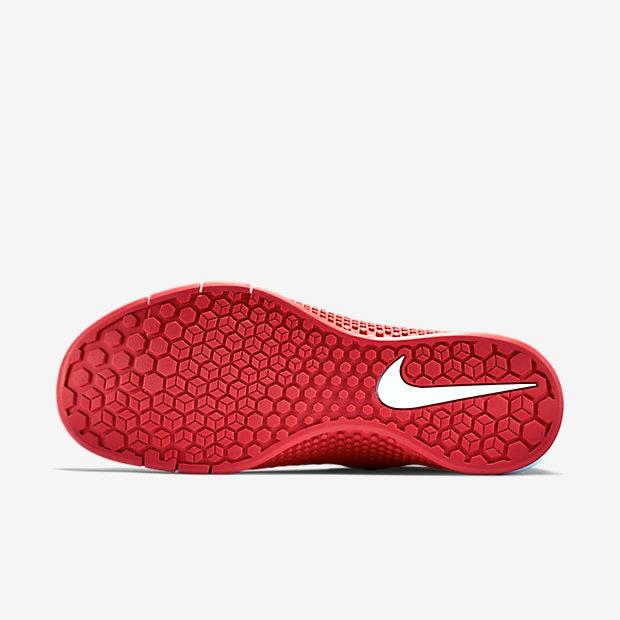 Nike Metcon 1 - Cool Grey, Black, University Red, White 2