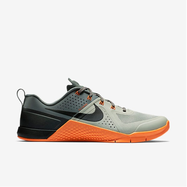 Nike Metcon 1 - Lunar Grey, Tumbled Grey, Total Orange (704688-080)
