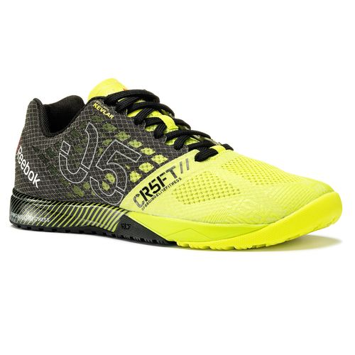 Reebok Crossfit Nano 5.0 - Semi Solar Yellow,Black,Flat Grey (V65896)