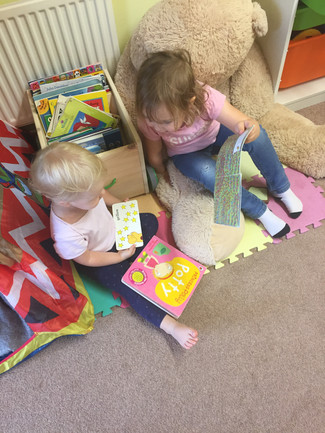 We love to read new books