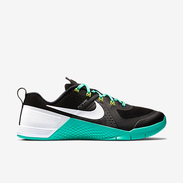 Nike Metcon 1 - Black, Hyper Jade, Volt, White (813101-002)