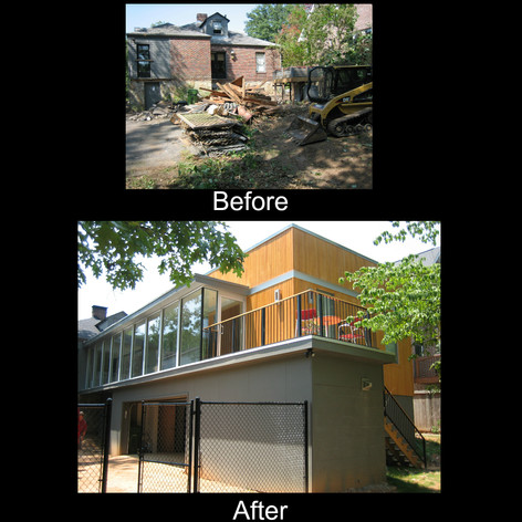 Before and After Modern Addition