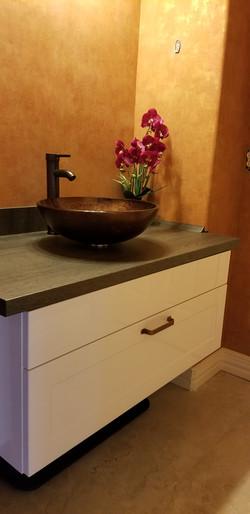 Bathroom remodeling project, Katy