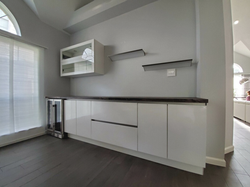 modern cabinets for wet bar