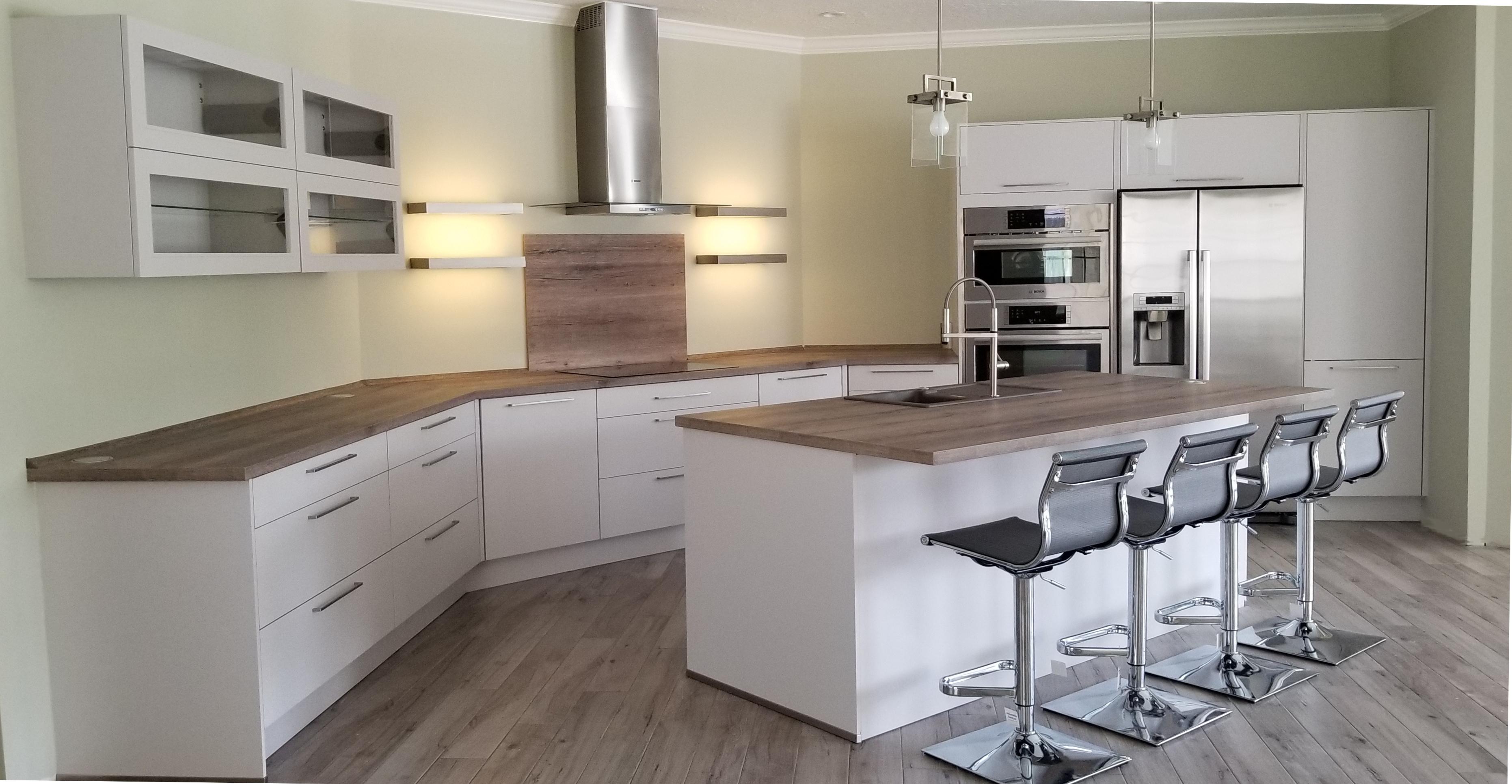 matt finish kitchen cabinets