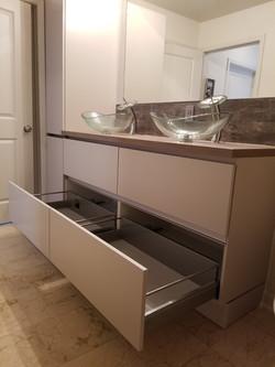 remodeling with modern vanity