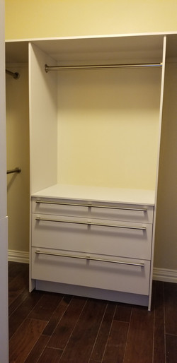 Closet cabinets from Germany