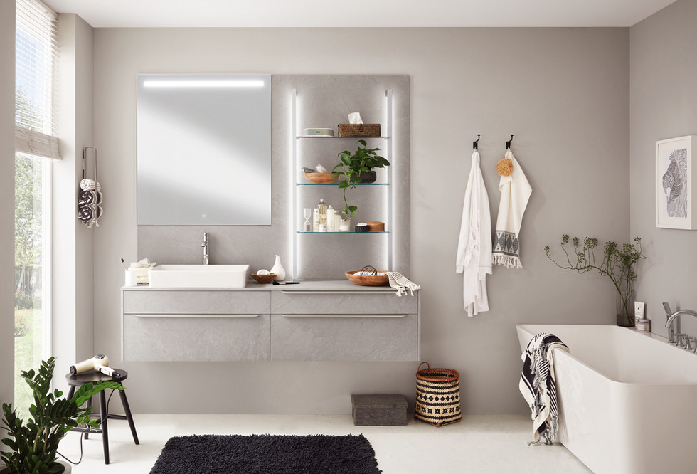 S65_floating cabinets for your bathroom project in Katy and Houston by Europa Remodeling