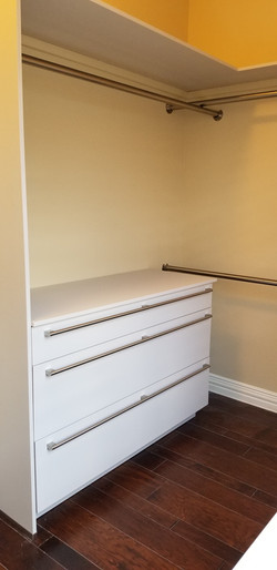 Cabinets for kitchens & closets