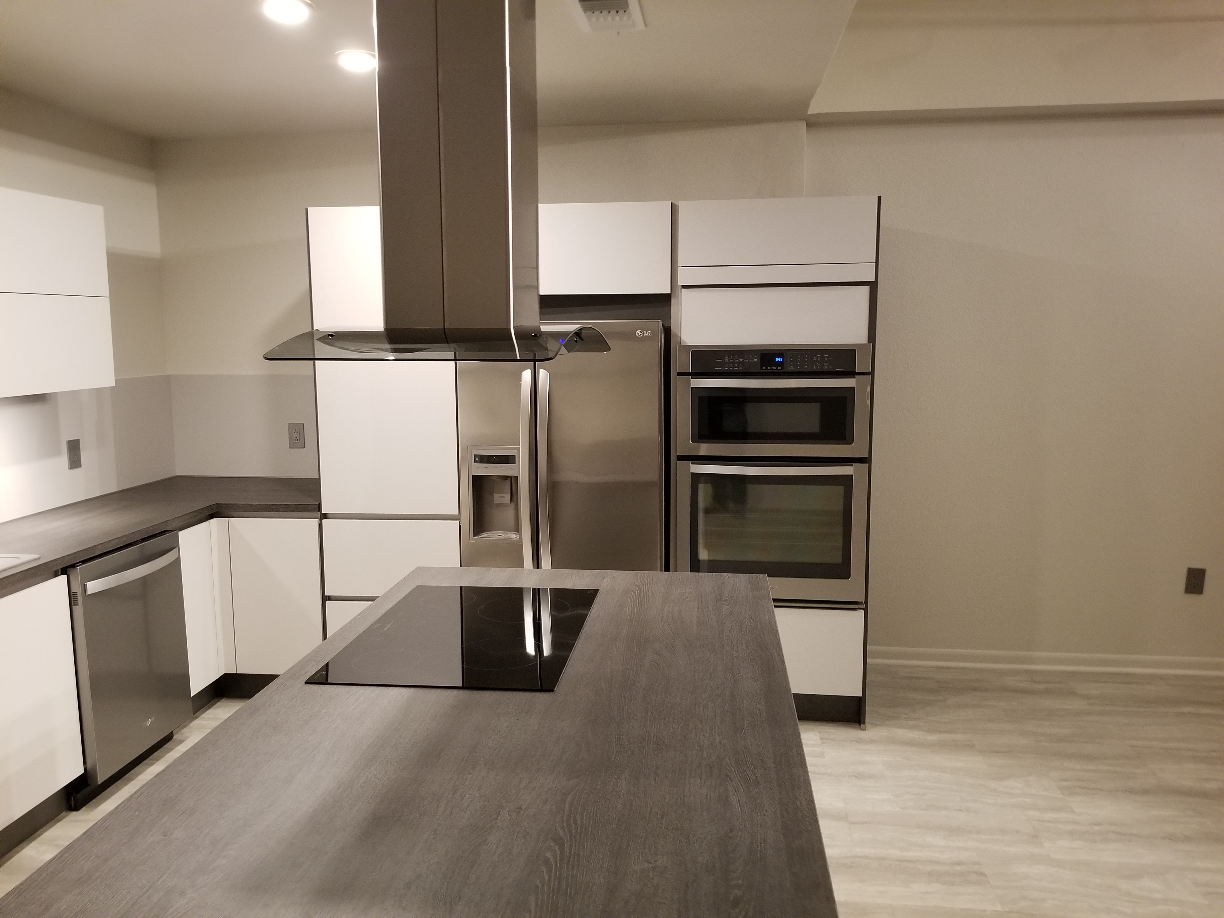 Modern kitchen cabinets for Houston