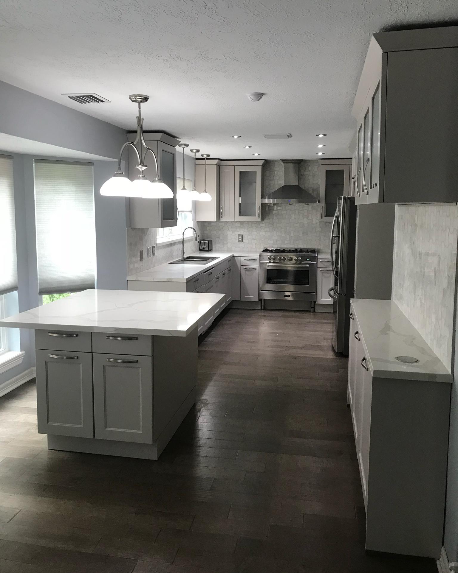 German kitchen remodeling